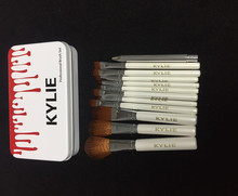 Retro Packaging New Kylie Professional Makeup Brushes 12pcs Set
