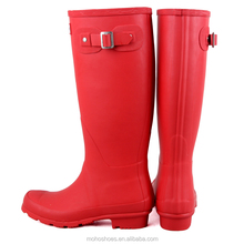 Fashion women rainboots H brand rubber gumboots waterproof wellies
