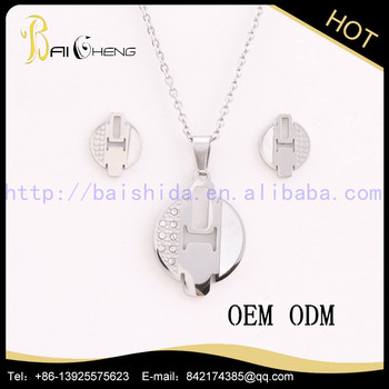 Hot selling thailand stainless steel jewelry with low price