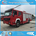 HOWO 4*4 fire fighting truck,Right steering wheel