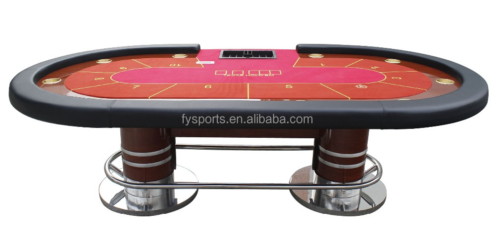 luxury tournament poker table/customized table/oval table