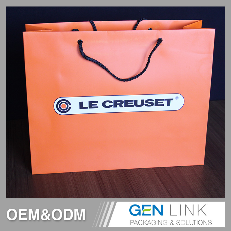 High quality fashion packaging small paper bags promotional