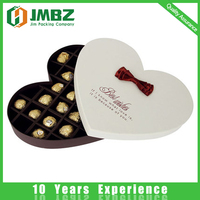 Custom Luxury Cardboard Paper Packaging Chocolate Box