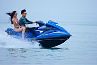 SANJ 4 Stroke marine jet ski Sea scooter water cooling 4 stroke engine 1100cc 1800cc best price