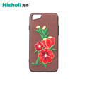 3D Embroidered Case Multiple Designs Slip Resistance Dual Layer Case for iphone8