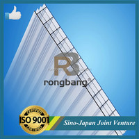 100% Resin Material Hollow Polycarbonate Sheet Roof Sheets Price Per Sheet