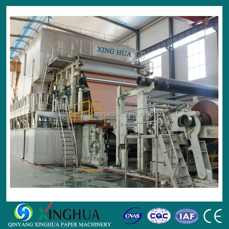 Grey board machine, paper board making machiney for paper production