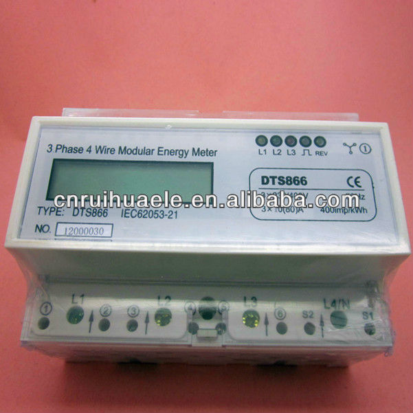 voltage current power meter display