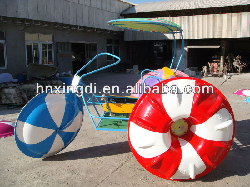 top best seller kids and adult amusement park water tricycle for sale