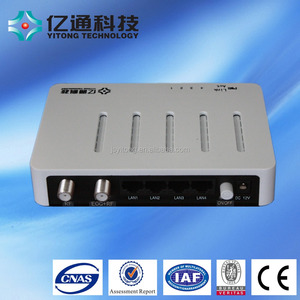 High quality 10/100M eoc Slave/Master transmitter and receiver coaxial cable converter