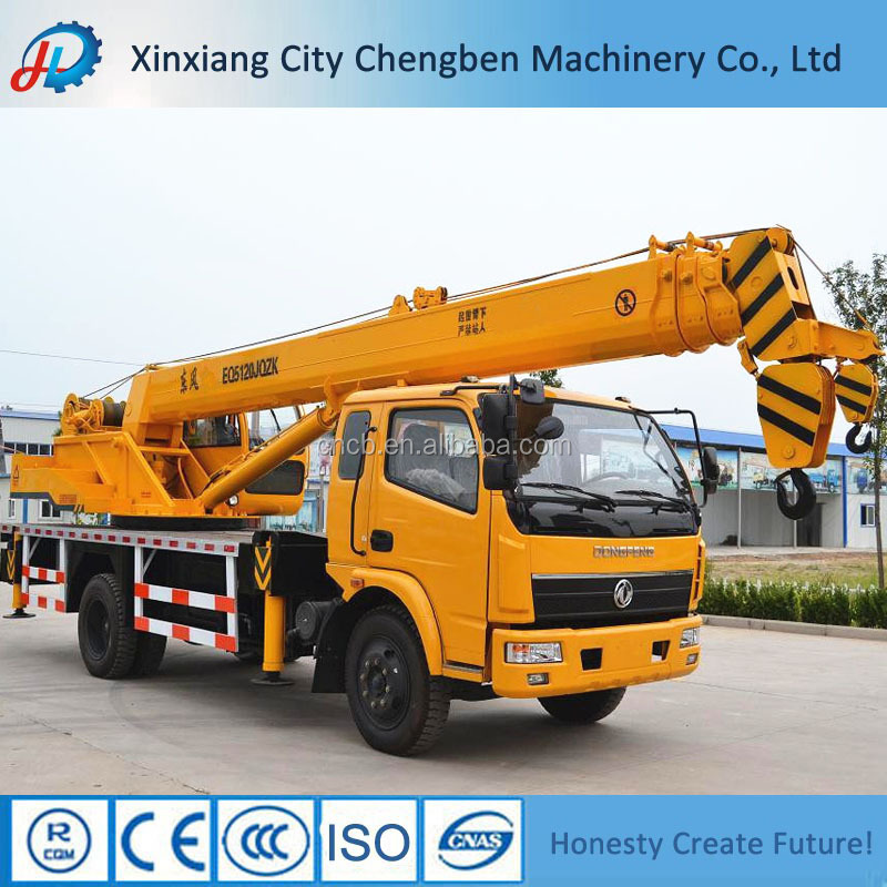 Small Hydraulic Lifts Truck Crane For Sale
