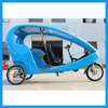 Mini Taxi Bike Electric Tricycle Rickshaw for 2 Passengers