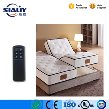 2017 newest design adjustable electric massage american standard mattress