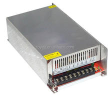 600 W 24 V 25 A Regulated Switching Power Supply , LED Power Supply