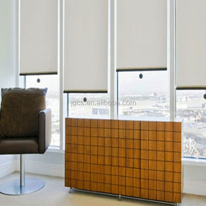 office window curtain manual chain roller blind and curtain