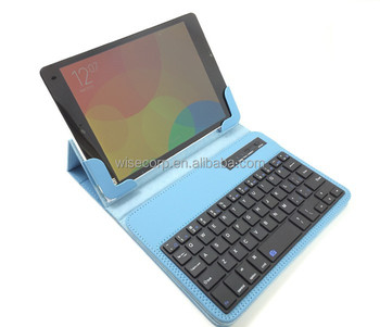 Original Filp Cover Leather Case with Wireless Bluetooth Keyboard for xiaomi MiPad Mi Box