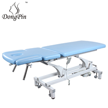 electric physiotherapy 2 section electric treatment bed