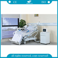 AG-BR001 ICU bed with reading and dinning position patient bed