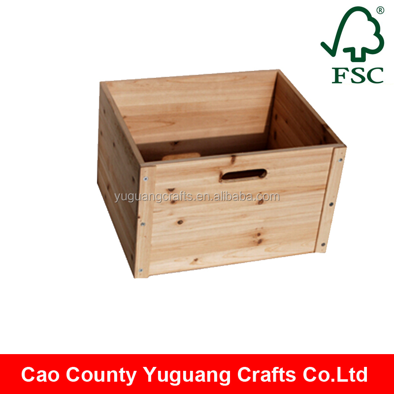 Fir wood unfinished cheap wooden crates wholesale buy for Where do i find wooden crates