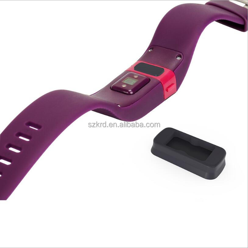 Silicone TPU cover Charge Port sleeve protector With dust plug function For Fitbit Charge HR