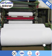 Hot sale toilet tissue paper making machine/ jumbo tissue roll production line