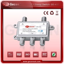 4 IN 1 STRONG GECEN DISEQC SWITCH GD-41D WITH BEST QAULITY