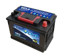 DIN 75AH MF Starting DIN Auto Battery
