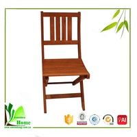 Classical Chinese bamboo wooden dining room chair