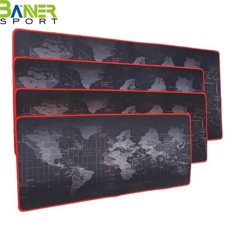 Custom printed large size gaming mousepad anti-slip desk keyboard mat mouse pads
