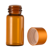 Amber Glass Medical Tubular Vial