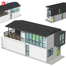 Container homes 40ft luxury house for Ireland, container hotel design, hotel container