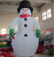 2014 newest design inflatable snowmen for christmas