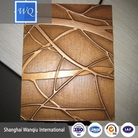 3D Embossed Panel Decorative New Design Room Wall Paper