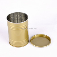 wholesale 0.23mm metal tinplate lollipops use gas cans type storage package tin box