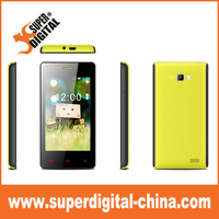 low price 4 inch WVGA 480*800 android 4.4 smartphone 3G