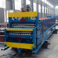 Double Layer IBR Steel Roofing Sheet Roll Forming Machine