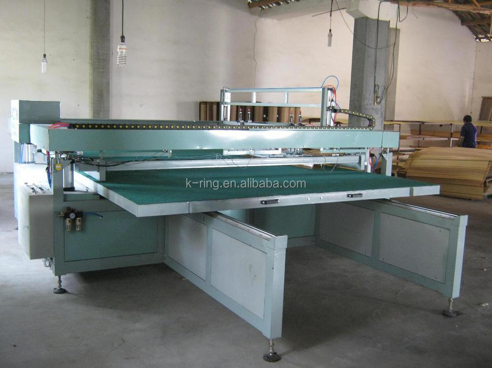 Glass, PVC Semi automatic screen printing machine 1600 x 2500