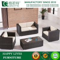European Style Plastic PE Rattan Patio Sofa Set HL-9009