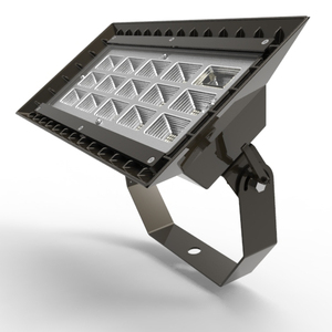Auto sensing dimmable solar led flood light 150w for parking lot for construction work sites
