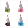 100% Cotton Dog Sling Bag Pet Carrier