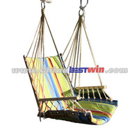 2015 hot sale good quality cheap hanging chair/fabric patio swing/outdoor adult hanging chair