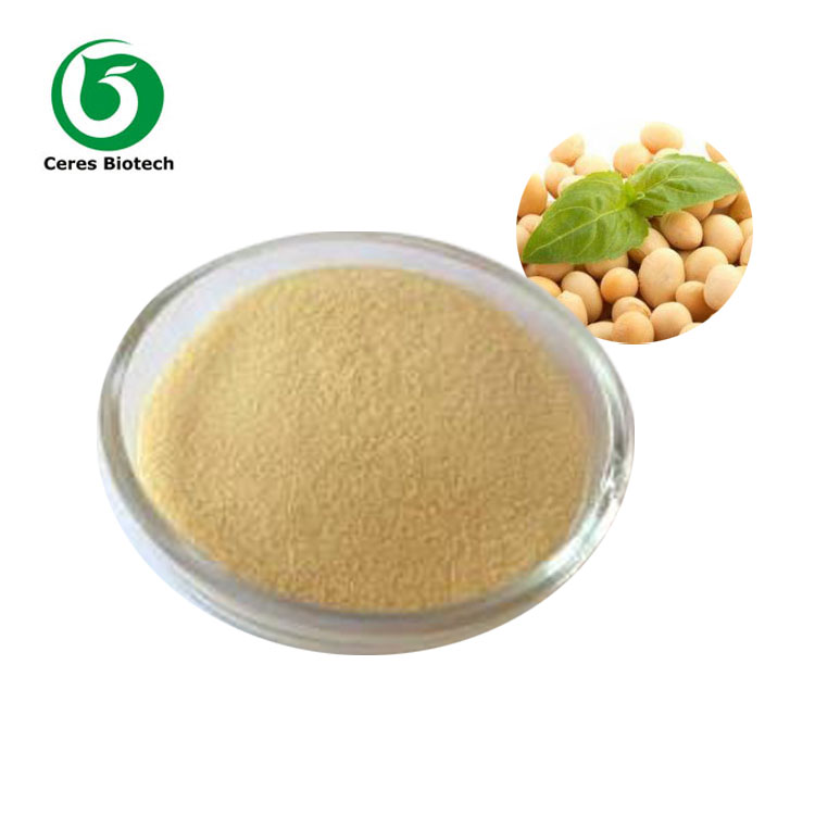 Natural Soybean Extract Soy isoflavone Powder
