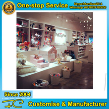 High end wooden display furniture using for pet store and pet hospital
