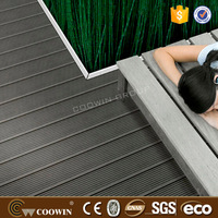 Black wrought color wood plastic compound laminate flooring TH 20mm