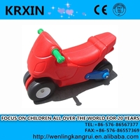 PP plastic type and ride by self children motorcycle ride toy