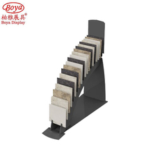 Professional Design Easy Clean Stone Marble Sample Display Rack