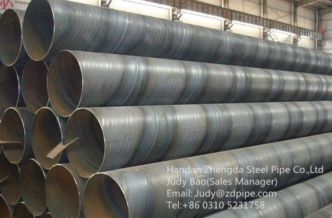 API 5L gas and oil spiral steel pipe