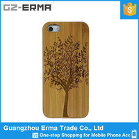 Unique Tree Pattern Real Handmade Natural Wooden Wood and PC Hard Case for Apple iPhone 6
