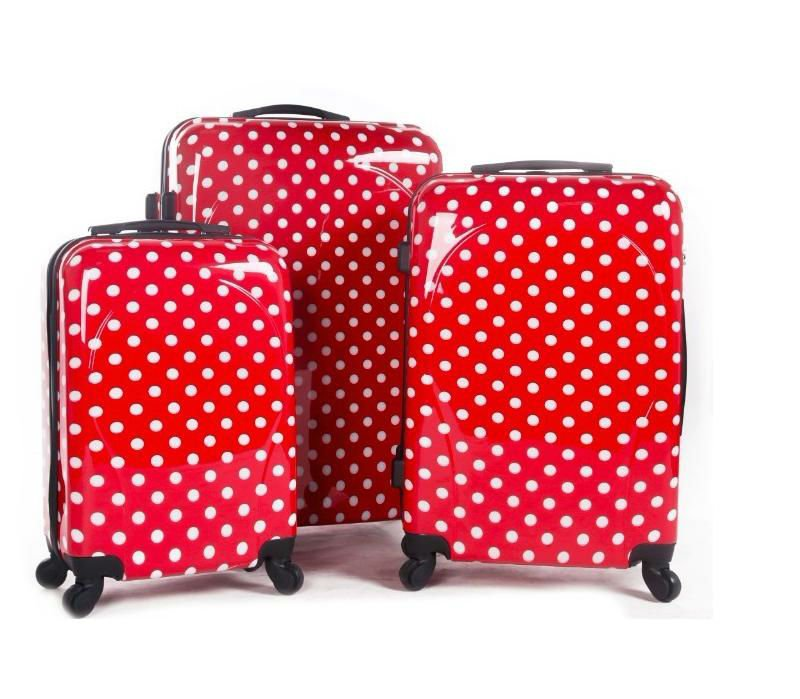 hot sale cheap luggage sets for sale luggage bags with <strong>ABS</strong> and PC material carry on suitcase bags