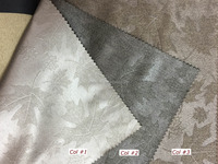Manufactured Canadian curtains / embossed fabric for home
